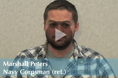 Marshall Peters, Navy Corpsman (ret.)