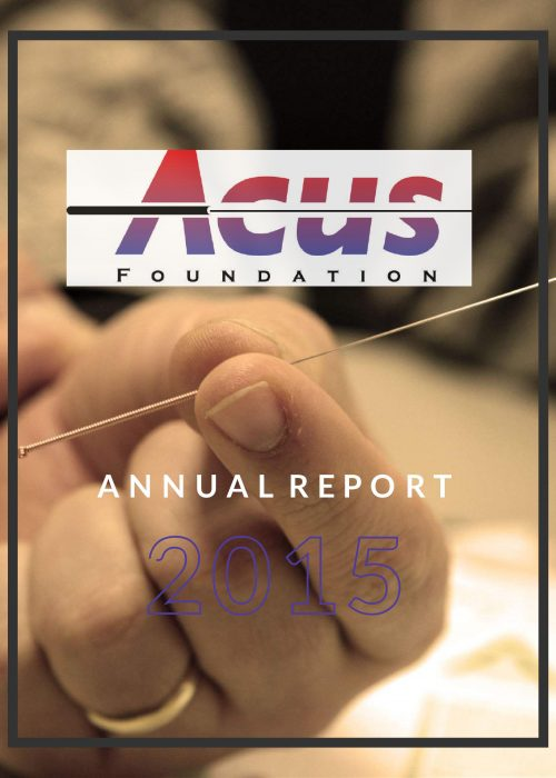 2015 Acus Annual Report