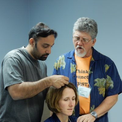 Scalp Acupuncture at Nellis AFB