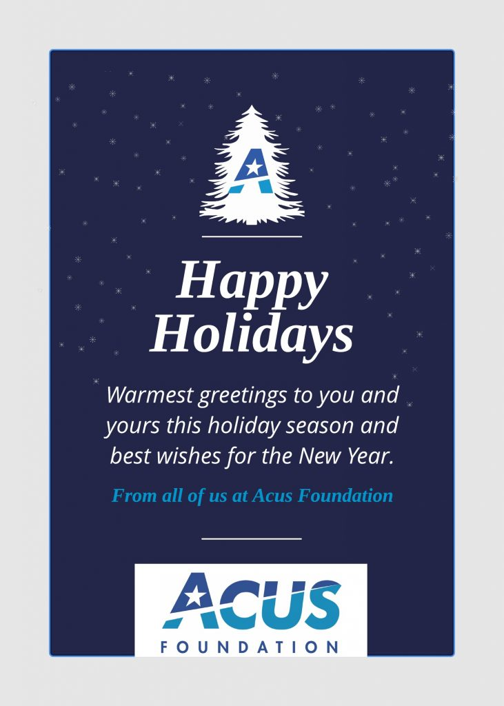 2017 Acus Holiday Card