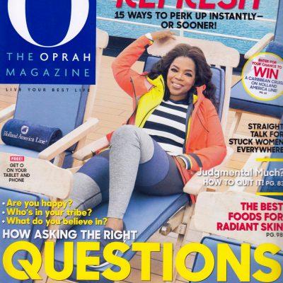 O Mag Cover